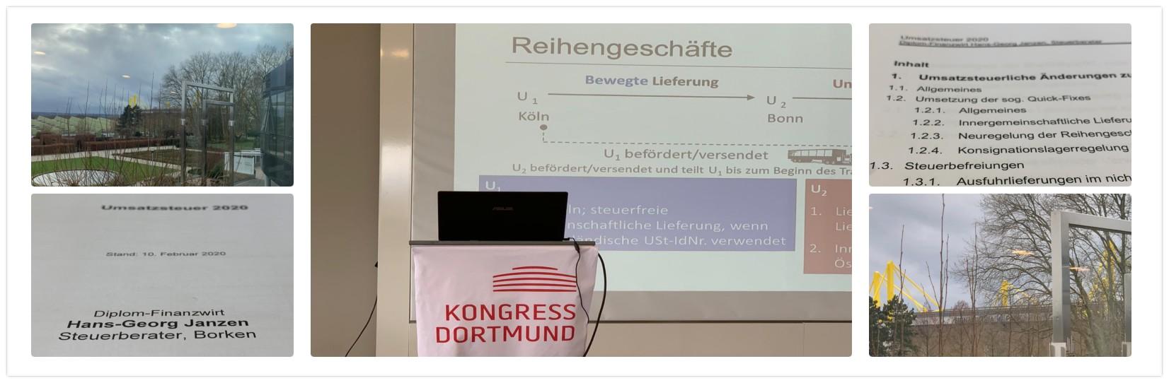 Seminar - Dortmund - Umsatzsteuer 2020